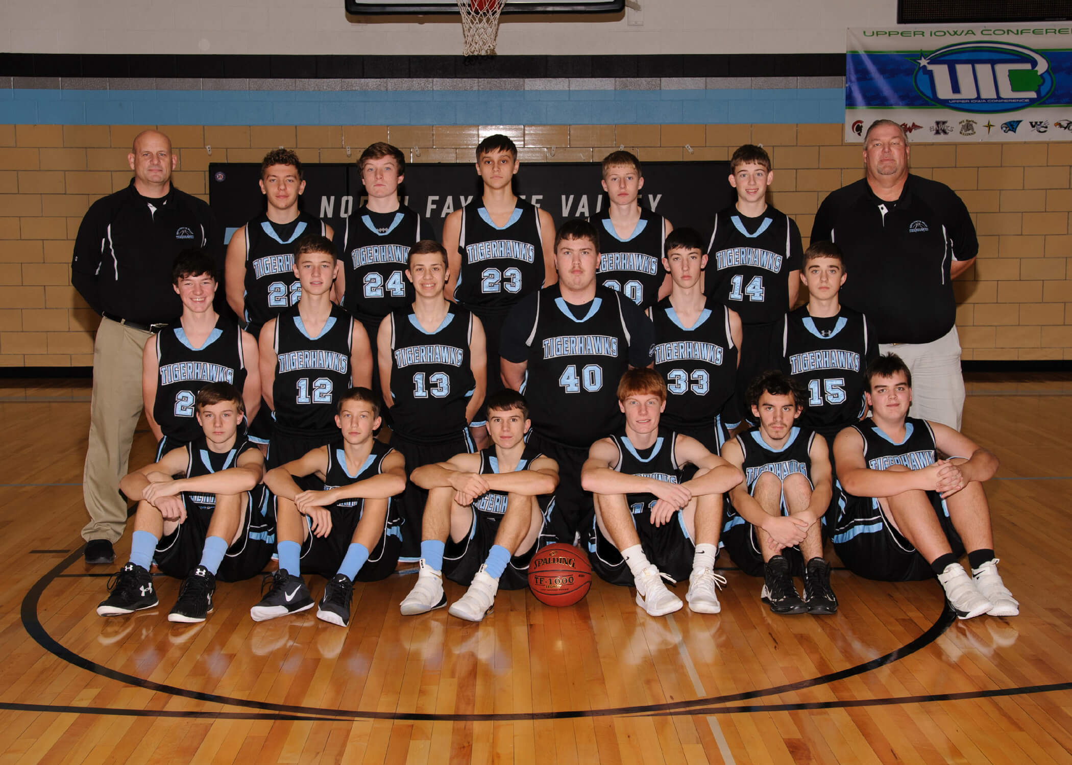 NFV High School Basketball 2018 Junior Varsity Team Photograph