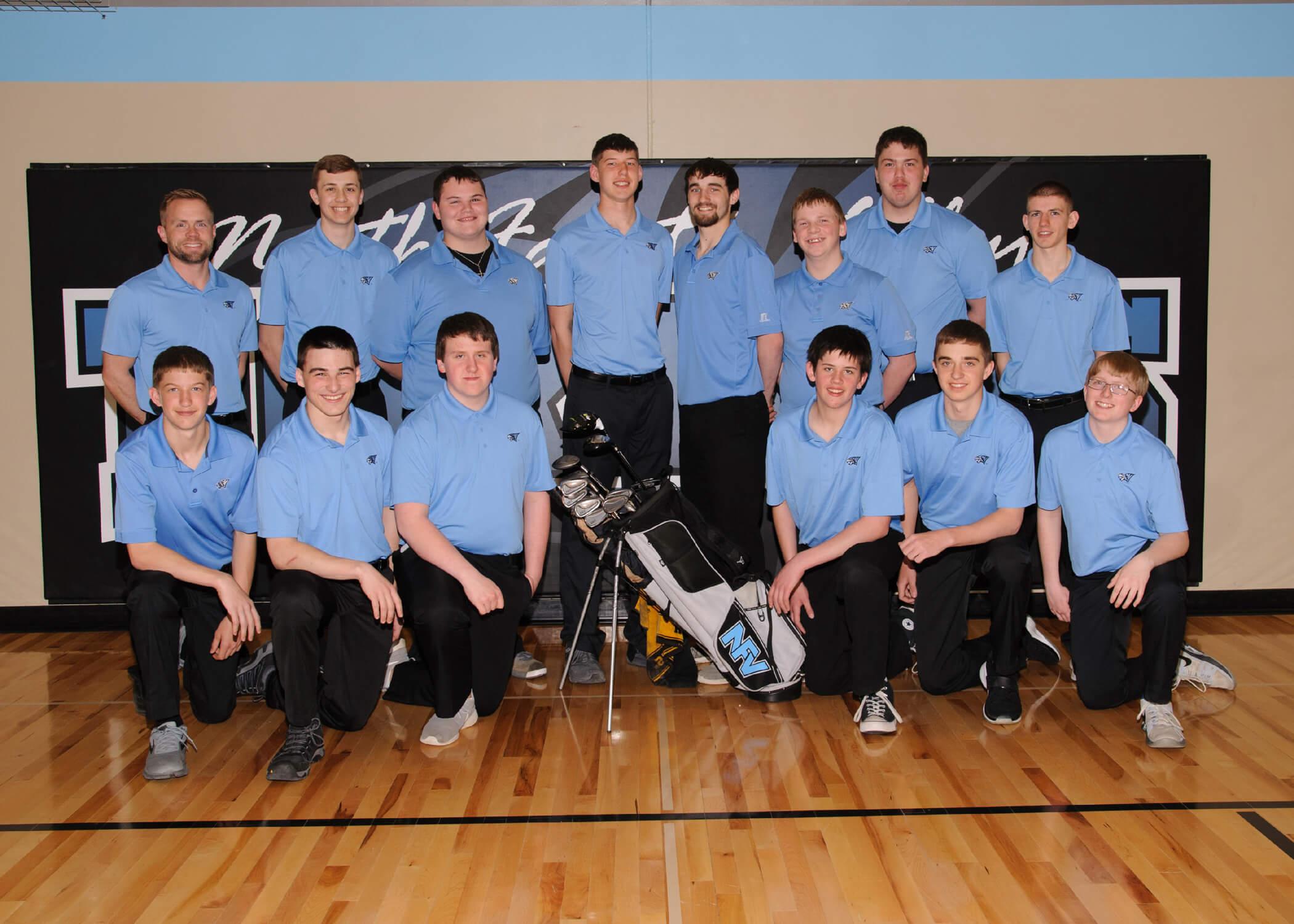 NFV High School Girls Boys 2018 Team Photograph