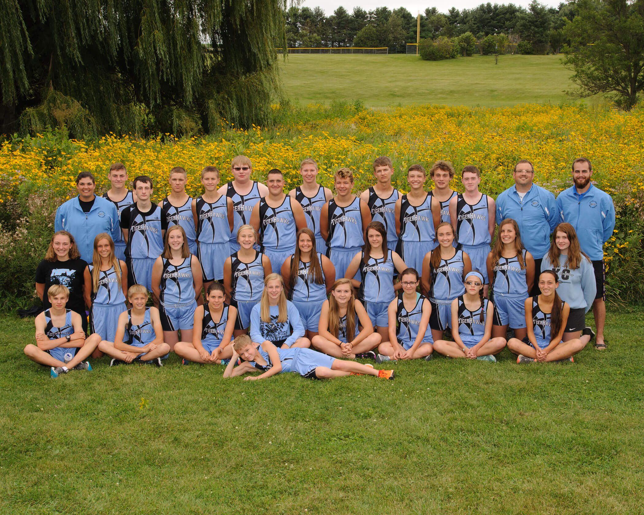 NFV High School Cross Country 2018 Team Photograph