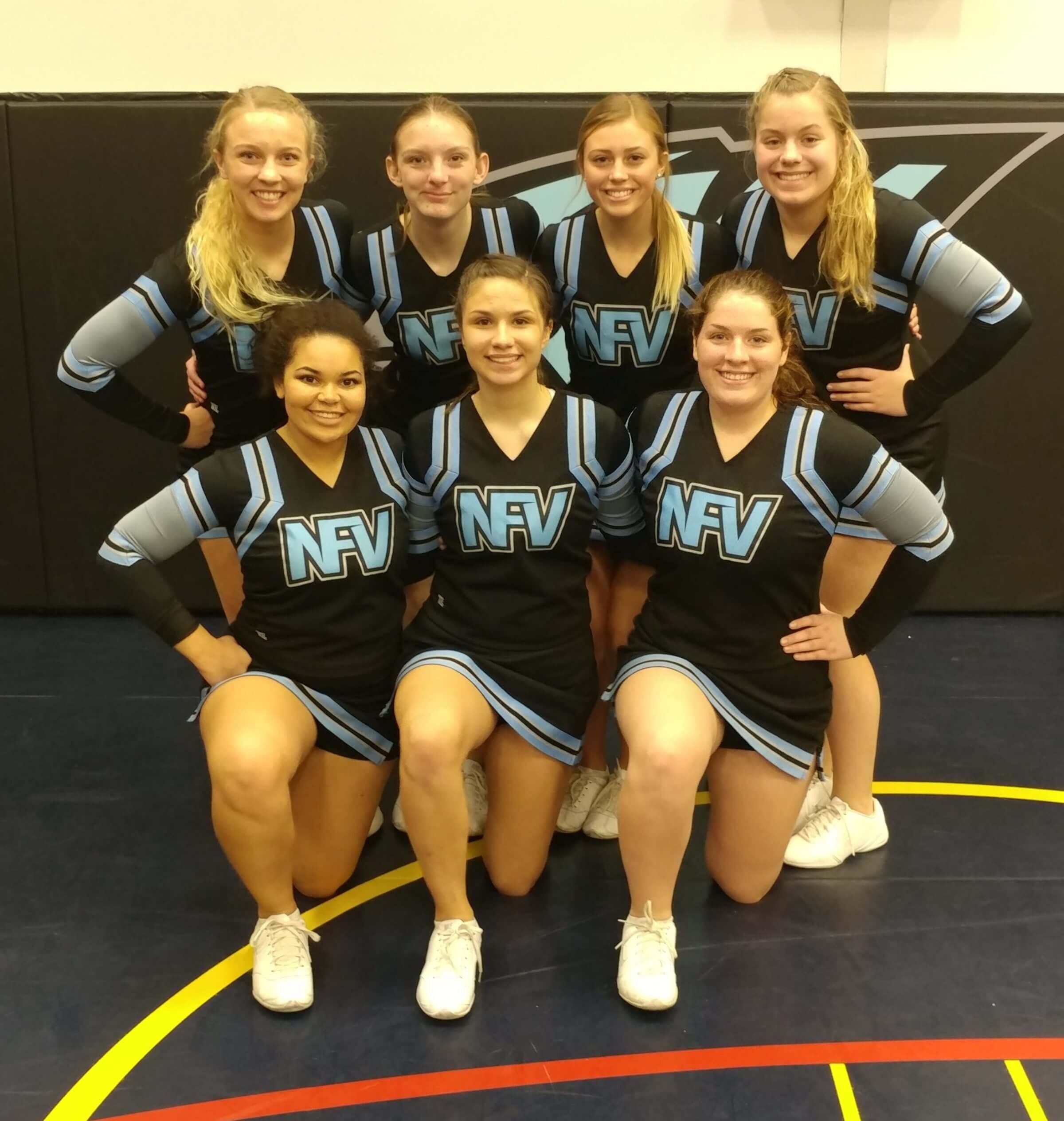 2018 NFV High School Wrestling Cheerleaders