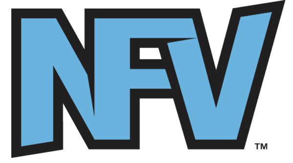 NFV Logo outlined in black