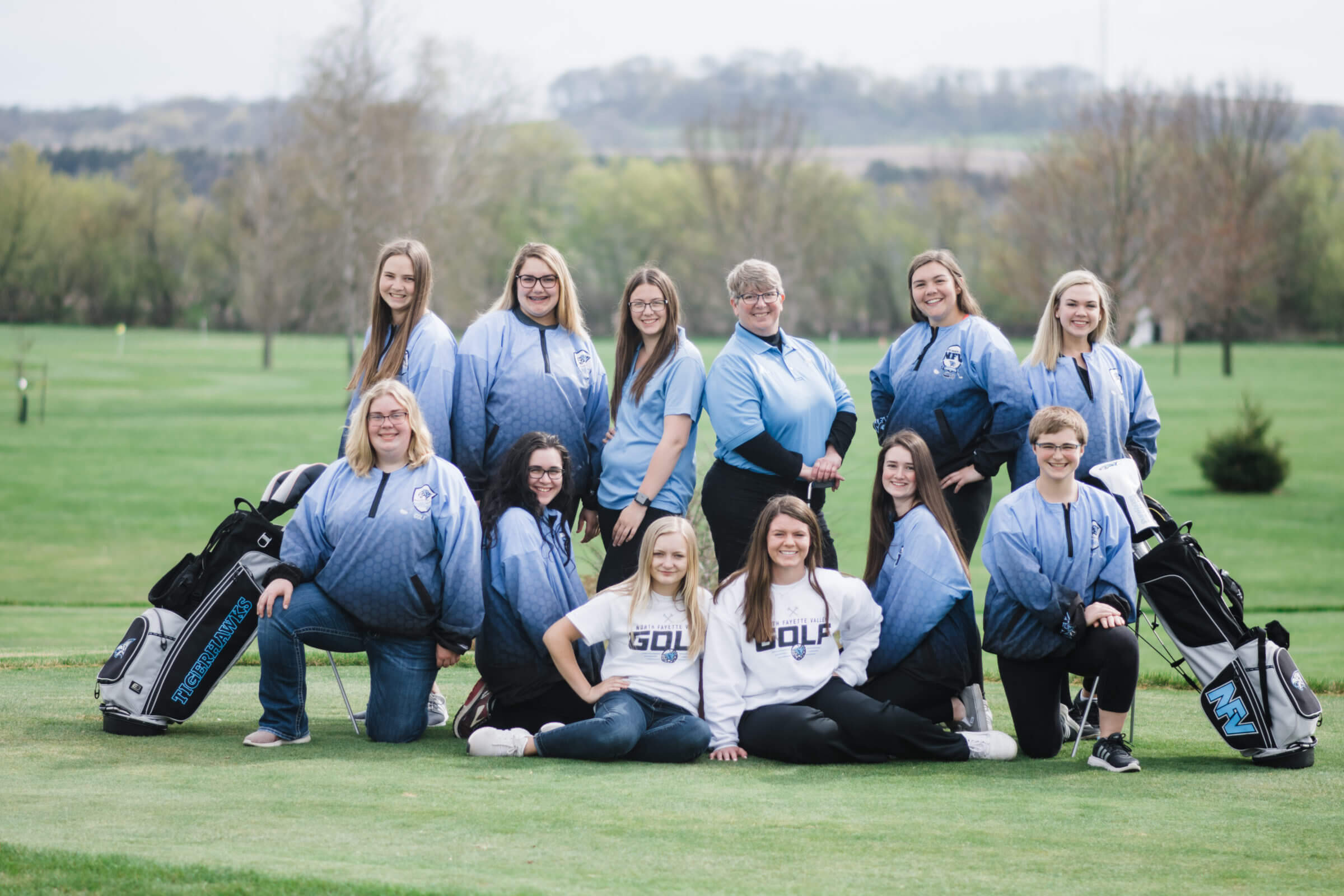 NFV High School Girls Golf 2018 Team Photograph