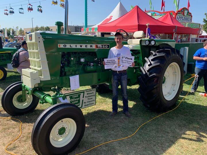 Easton's Tractor