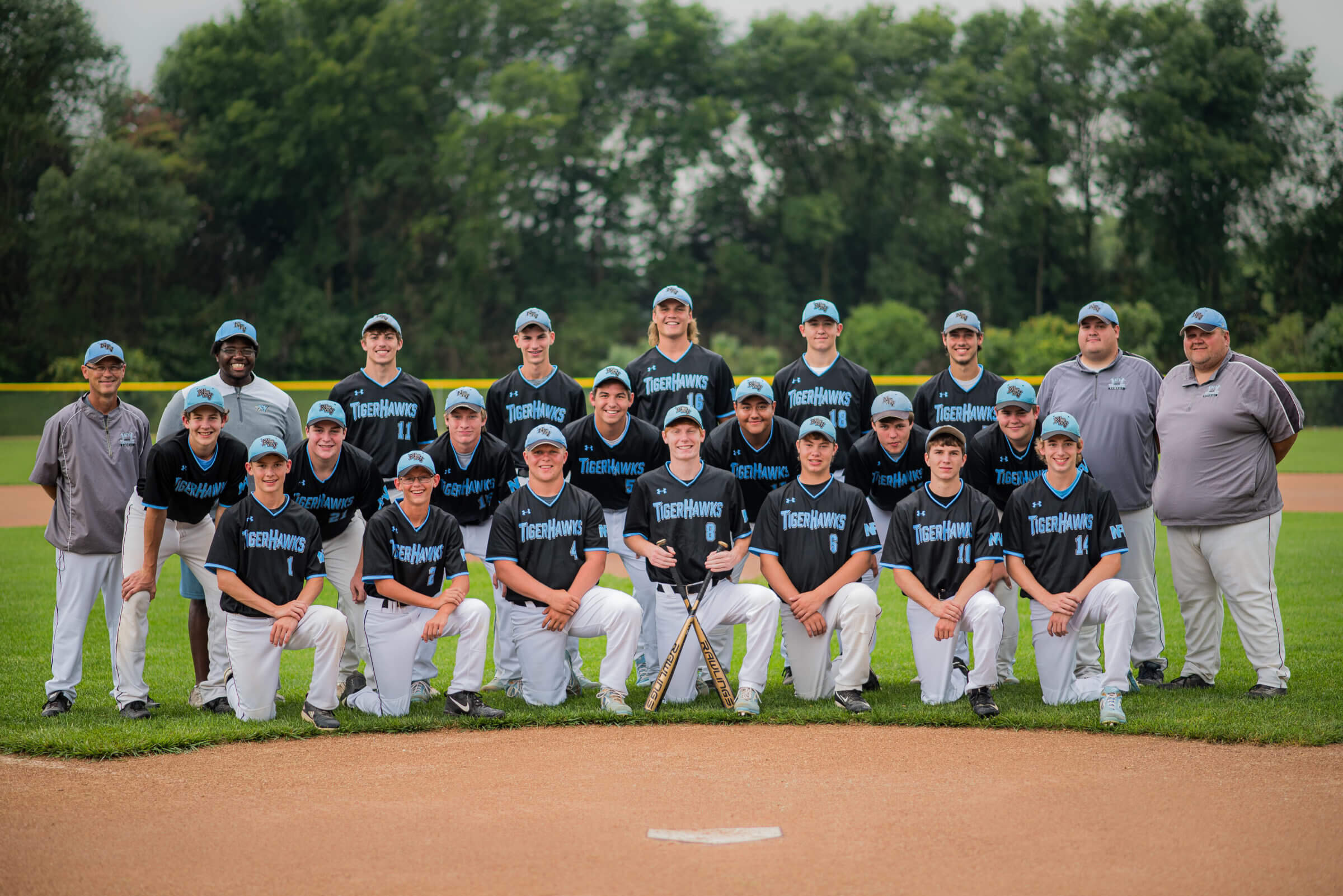 NFV High School Baseball 2019 Team Photograph